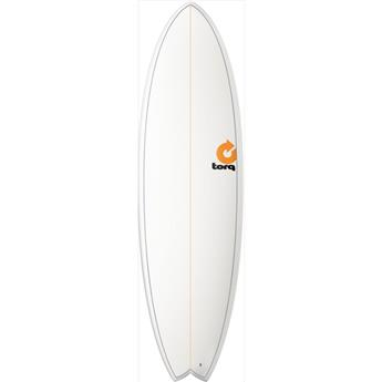 Board Surf Epoxy Fish PINLINE TORQ White (V0000)