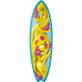 Board Surf Epoxy Fish ART TORQ Crowns (50624) 5´11´´x20 3/8´´x2 1/2´´ 33,2 litres
