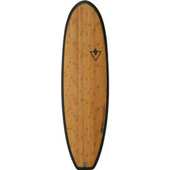 Board Surf Carbone Bamboo Hybrid FAT PICKLE VENON Bamboo (00017) 6´4 x 21´´ x 2´´11/16