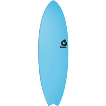 Board surf Mousse Shortboard FISH TORQ Blue (F0000)