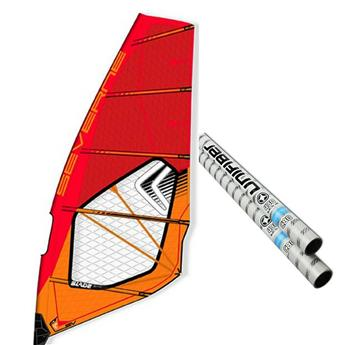 Pack Voile Windsurf Severne Blade et Mat Windsurf Unifiber 80% Enduro Hard Top Rdm