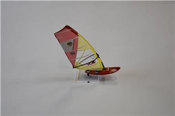 Planche Deco FUN ELEMENT FANATIC QUAD - NORTHSAILS VOLT Rouge/Jaune