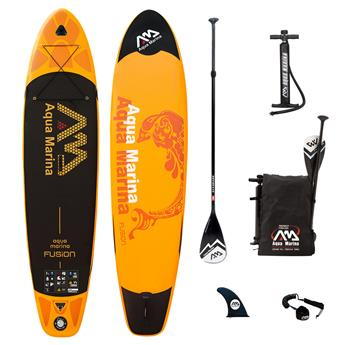 Pack Sup Gonflable FUSION AQUA MARINA 10´10´´x30´´x6´´ + Pagaie