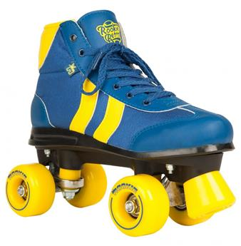 Patin complet Roller Quad  ROOKIE ROLLERSKATES Retro V2 Blue Yellow Roller Quad