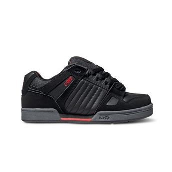 Chaussure DVS SHOES  Celsius DE Black/Grey/Red Nubuck Geegan Noir