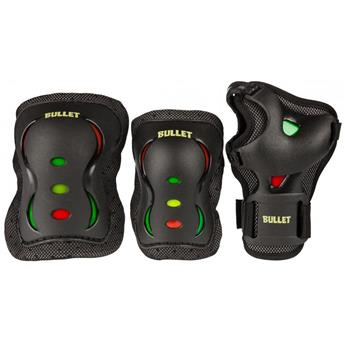 Set de protection complet BULLET  Kit Protection Junior Black Red Yellow Green