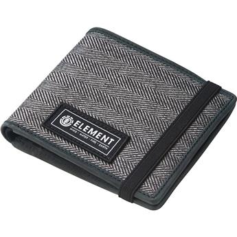 Portefeuille ELEMENT Endure Wallet Charcoal Herringbone Gris