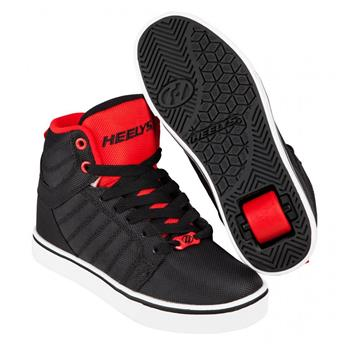 Chaussures à roulettes HEELYS Uptown Black/Red Ballistic
