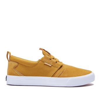 Chaussure SUPRA  Flow Amber Gold-White