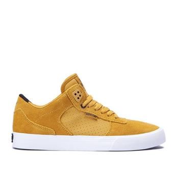 Chaussure SUPRA  Ellington Vulc Amber Gold White