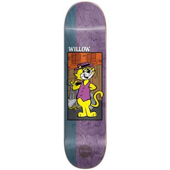 Plateau Skateboard ALMOST SKATEBOARDS Deck Hanna Barbera R7 Willow Top Cat 8.375 X 31.8