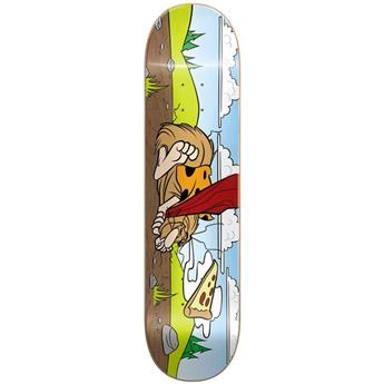 Plateau Skateboard ALMOST SKATEBOARDS Deck Haslam Napping Caveman R7 8.375 X 31.75