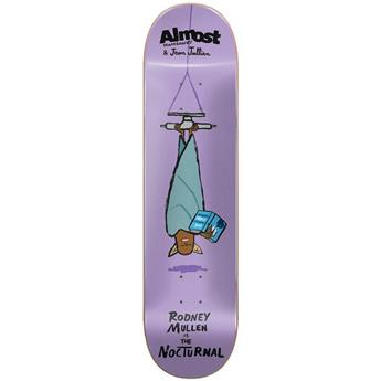 Plateau Skateboard ALMOST SKATEBOARDS Deck Jean Jullien Monsters R7 Mullen 8.125 X 31.7