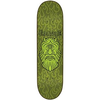 Plateau Skateboard CHOCOLATE CREATURE Deck Resurrection Cyclops 32 X 8.375
