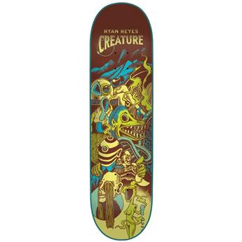 Plateau Skateboard CHOCOLATE CREATURE Deck Reyes Eclipse 31.6 X 8.0