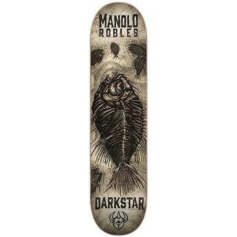 Plateau Skateboard CHOCOLATE DARKSTAR Deck Fossil R7 Manolo Robles 8.25