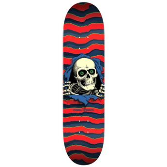 Plateau Skateboard POWELL PERALTA Deck Ps Ripper Red 8.25 X 31.95
