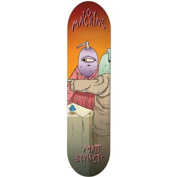 Plateau Skateboard TOY Machine Deck Last Supper 8.0 Bennett
