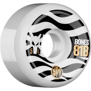 Roue Skateboard BONES  Wheels  Jeu De 4  Spf Eighty Ones 54mm