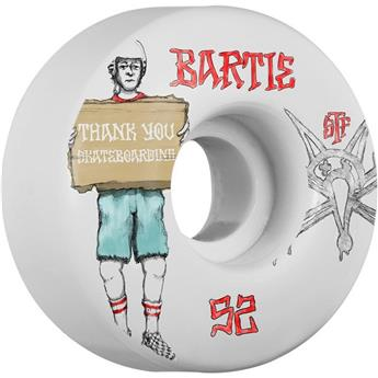 Roue Skateboard BONES  Wheels  Jeu De 4  Stf V1 Bartie Thank You 52mm