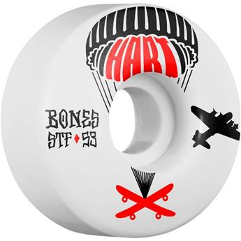 Roue Skateboard BONES  Wheels  Jeu De 4  Stf V1 Hart Drop Boards 53mm