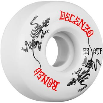 Roue Skateboard BONES  Wheels  Jeu De 4  Stf V2 Decenzo Remains 53mm