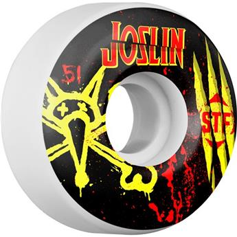 Roue Skateboard BONES  Wheels  Jeu De 4  Stf V2 Joslin Ex Men 51mm