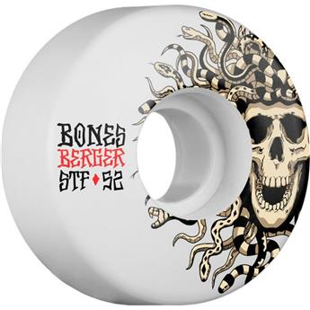 Roue Skateboard BONES  Wheels  Jeu De 4  Stf V3 Berger Medusa 52mm