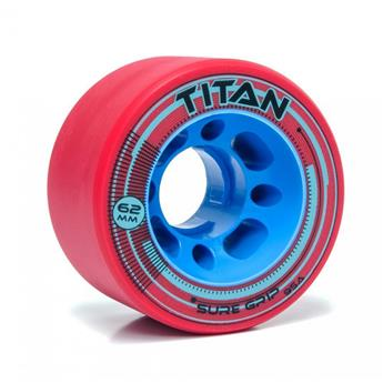 Roues Roller Derby SURE GRIP Wheels Titan 95A Red
