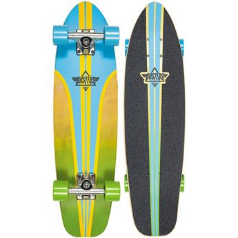 DUSTERS CALIFORNIA Complete Cruiser Glassy Pinstripe Blue Yellow 29