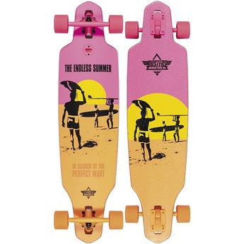 DUSTERS CALIFORNIA Complete Cruiser Endless Summer Wake 38 Ylw Org Pnk