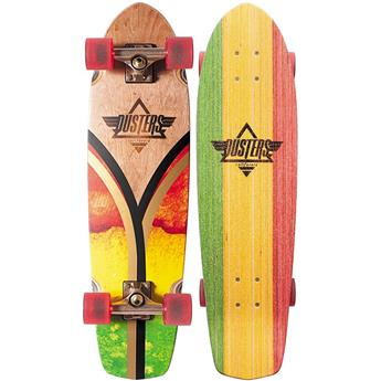 DUSTERS CALIFORNIA Complete Cruiser Flashback 31 Rasta Flag
