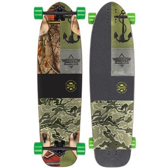 DUSTERS CALIFORNIA Complete Longboard Shooter 36 Kryptonics Green
