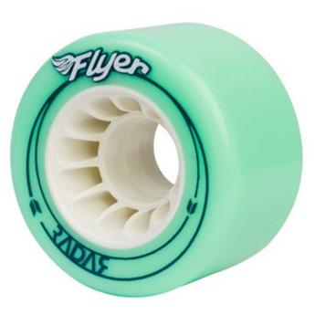Roue Roller Quad RADAR WHEELS Flyer Green