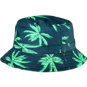 Chapeau GLOBE  Union Bucket Hat Palms Bleu