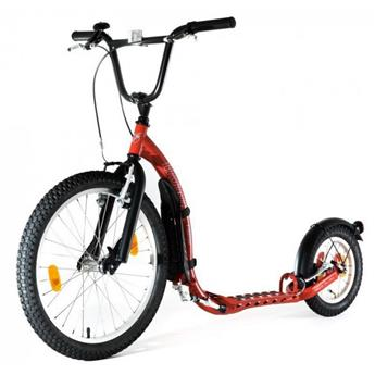 Trottinette tout terrain Footbike    KICKBIKE FREERIDE G4 RED Rouge