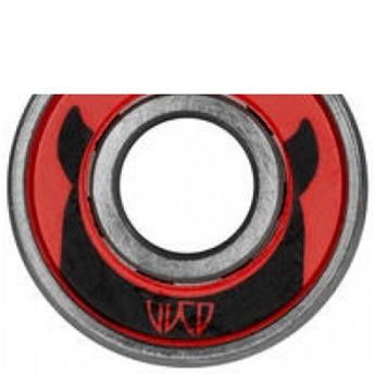 Roulements Roller Quad WICKED BEARINGS Bearings Abec 9 Quad Red