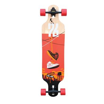Skate Longboard Complet MADRID SKATEBOARDS Trance 39´´ Drop-Thru Shoes