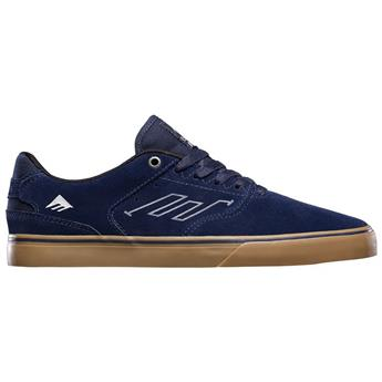 Chaussure EMERICA  The Reynolds Low Vulc Navy Grey Gum Bleu