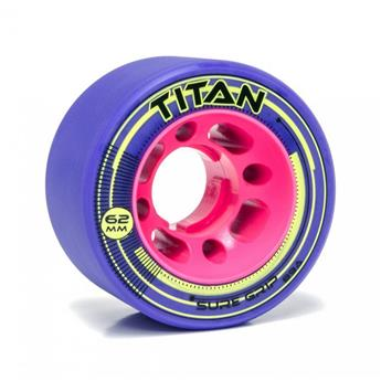 Roues Roller Derby SURE GRIP Wheels Titan 89A Purple