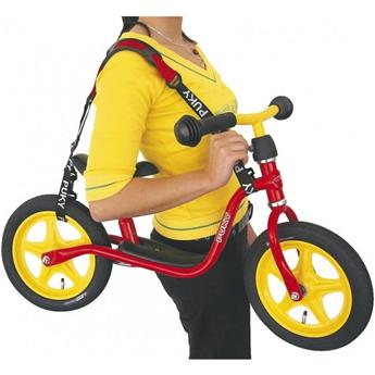 Sangle de Transport Trottinette Enfant PUKY Sangle de transport  Rouge Noir