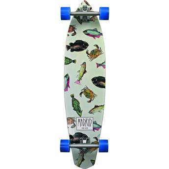 Skate Longboard Complet MADRID SKATEBOARDS Dude Fish Longboard