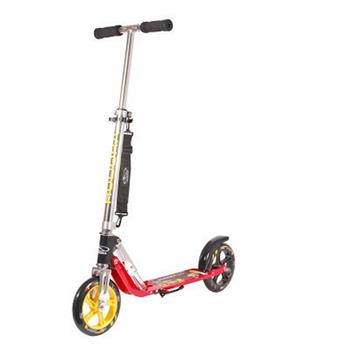 Trottinette Enfant HUDORA  Big Wheels 205 Champ Rouge et jaune
