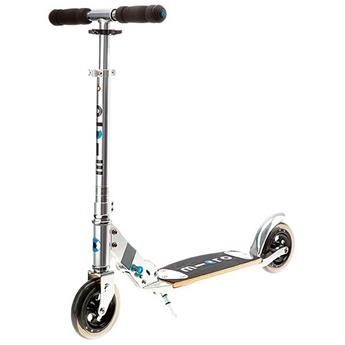 Trottinette Adulte   MICRO Flex Wood 145 Gris