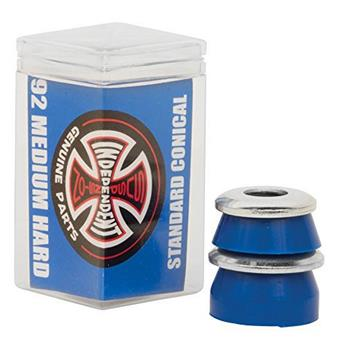 Bushing Skateboard INDEPENDENT  Bushings  Jeu De 4  Conical Medium Hard 92a Blue