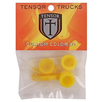 Bushing Skateboard TENSOR Slider   Jeu De 2 Pivots Yellow