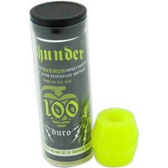 Bushing Skateboard THUNDER TRUCKS Bushings  Jeu De 4 Gommes  Tube 100du Neon Yellow