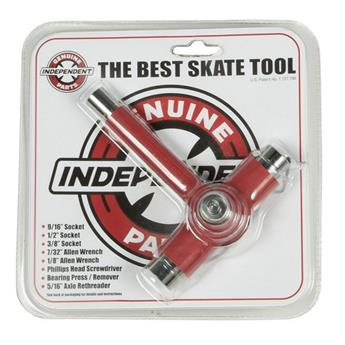 Outil montage Skateboard INDEPENDENT  Tool Best Skate Tool Red