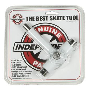 Outil montage Skateboard INDEPENDENT  Tool Best Skate Tool White