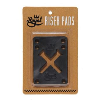 Pads Skateboard ROYAL Pads  Jeu De 2  0.125 Pouce Hard Black